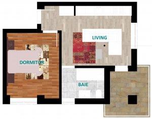 apartament 2 camere carol residence